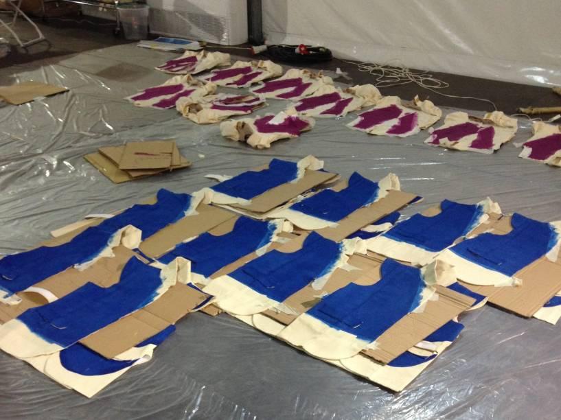 Preparação para modelos usados nas Olimpíadas