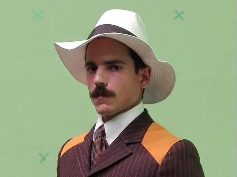 Sobrou até para Santos Dumont, o pai da aviação, entrar no desfile das Olimpíadas