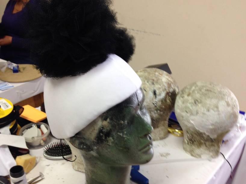Depois das Olimpíadas, Alexia também passou a se dedicar a fazer lindas cabeças para o Carnaval