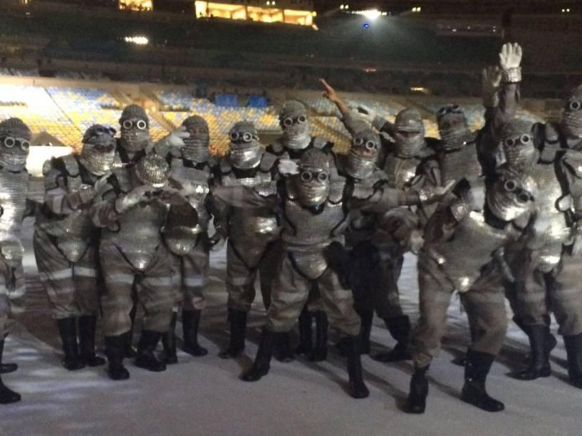 Os Jogos aconteceram no Rio, mas, ainda bem, esse não é o BOPE