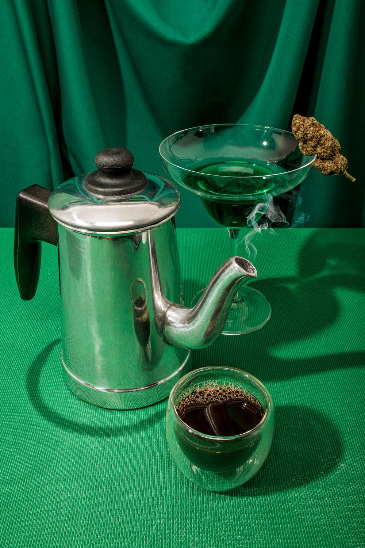 Café e maconha