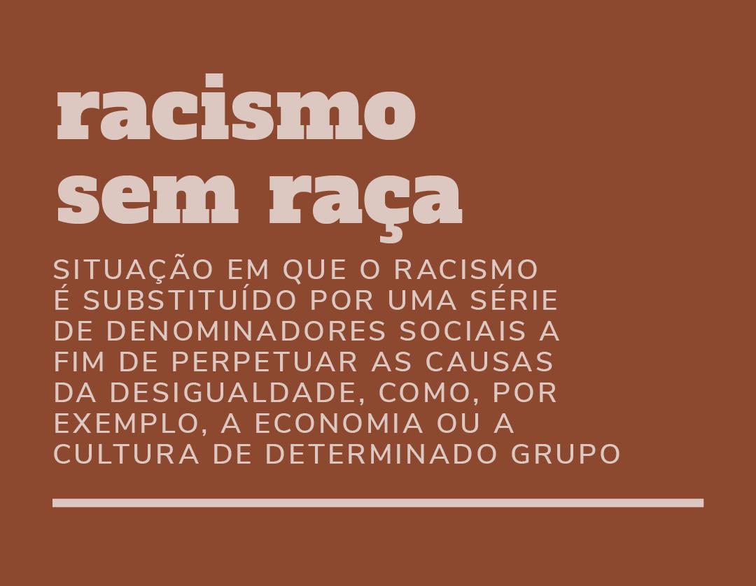 Racismo sem raça
