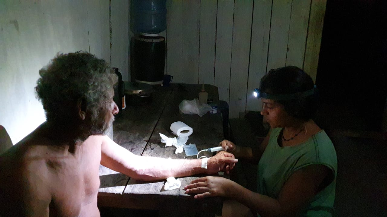 Juma Xipaia, ativista indígena