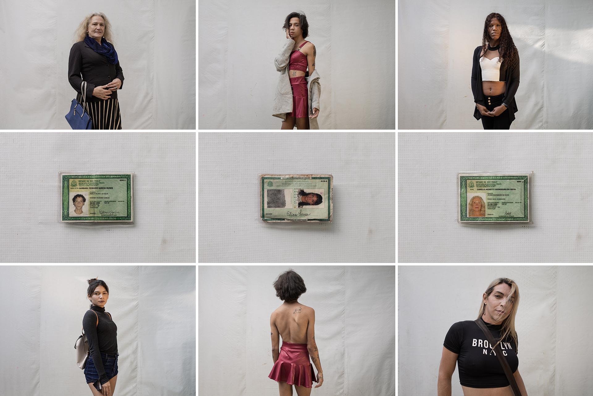 Da esquerda para direita, a parte de cima: Camilla Moretty, Barbara Garcia, Savanna Conceição, Celina Ferraz, Barbara Garcia e Aline Oliveira –