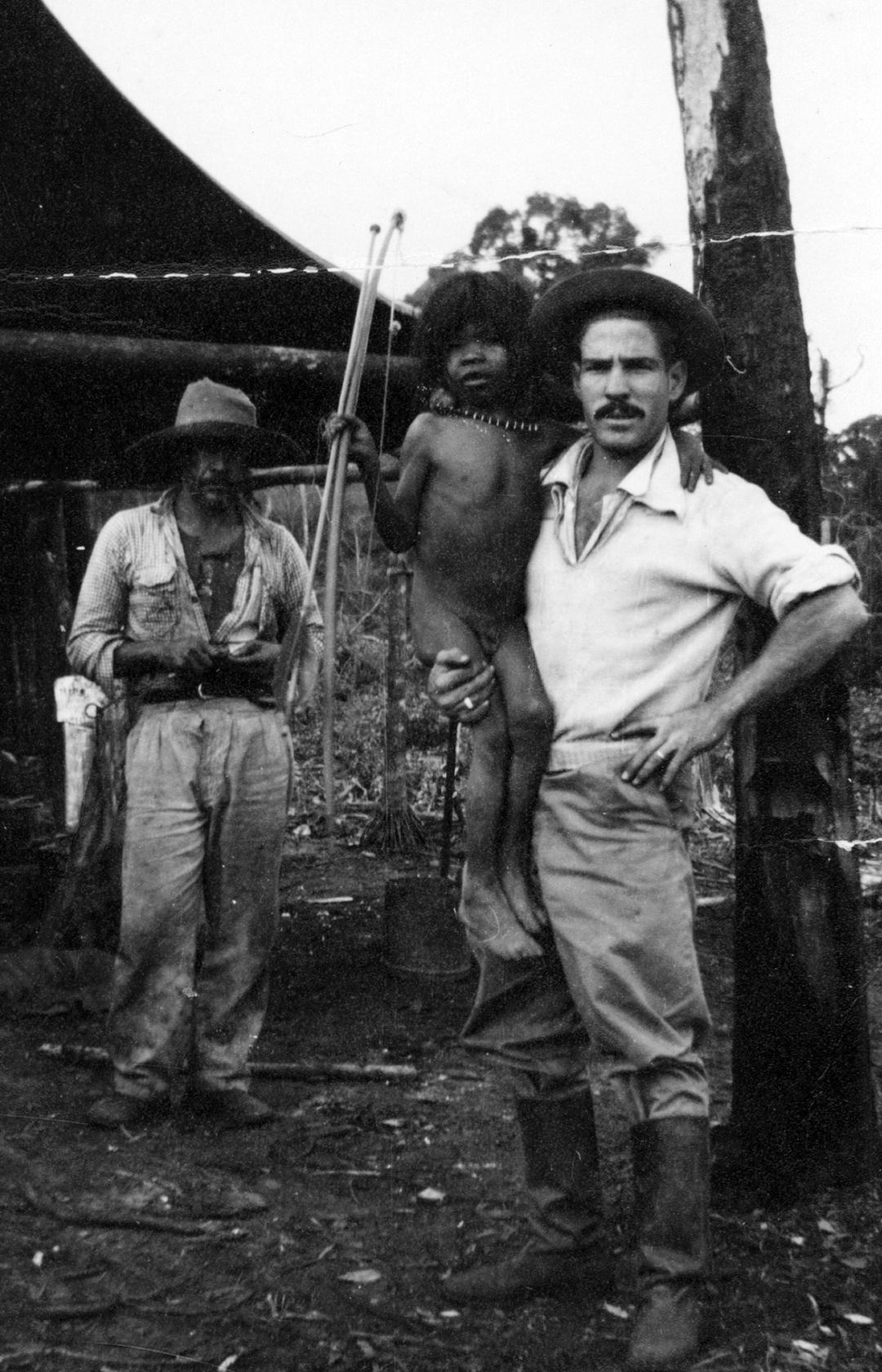 Kaiuá, 1º menino capturado em 1952 por agrimensores que faziam medição das terras na Serra dos Dourados