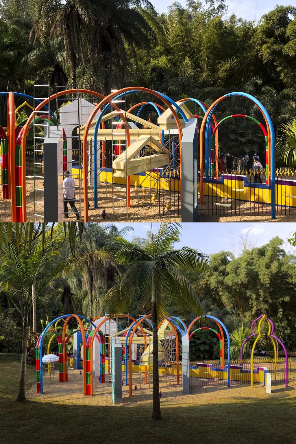 O espaço físico pode ser um lugar abstrato, complexo e em construção (2021), Rommulo Vieira Conceição.