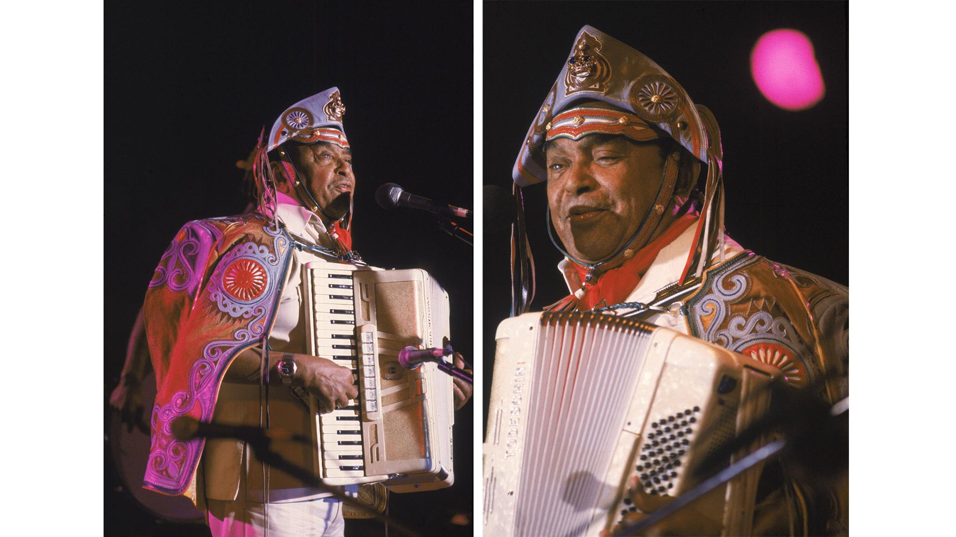 Show de Luiz Gonzaga no Festival de Águas Claras.