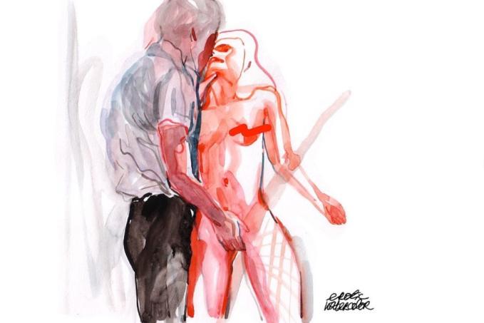 erotic watercolors