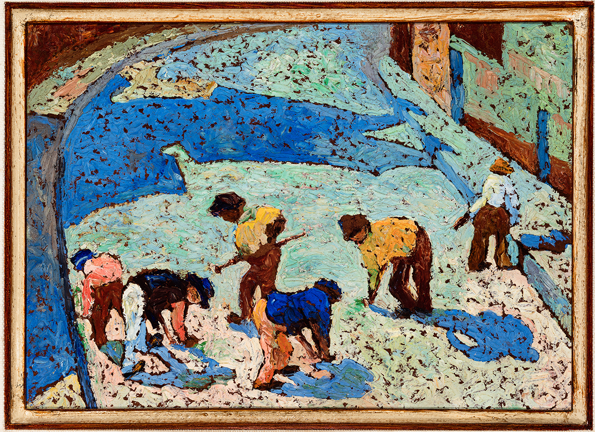Homens trabalhando, 1922, Zina Aita