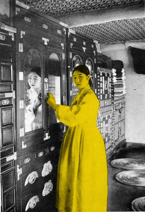 Mulher coreana, 1910
