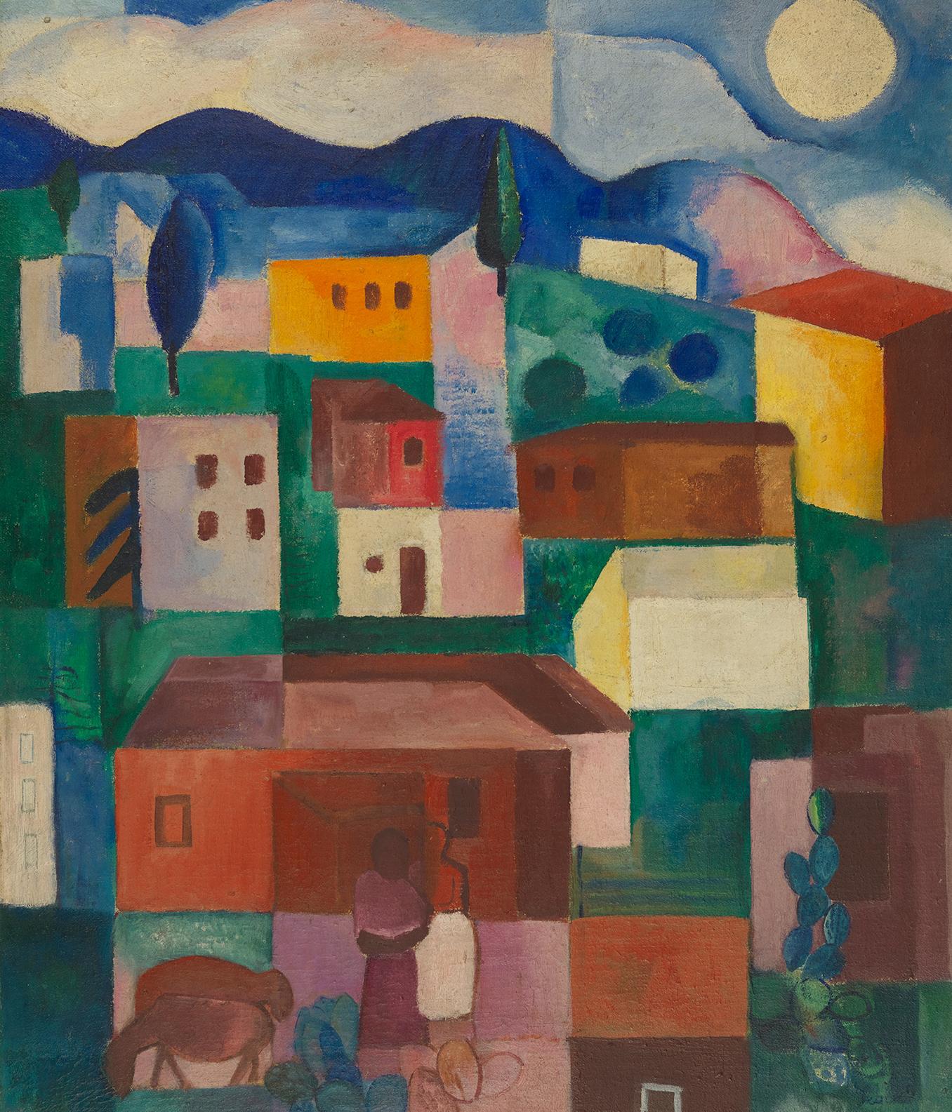 Paisagem brasileira, 1925, Lasar Segall