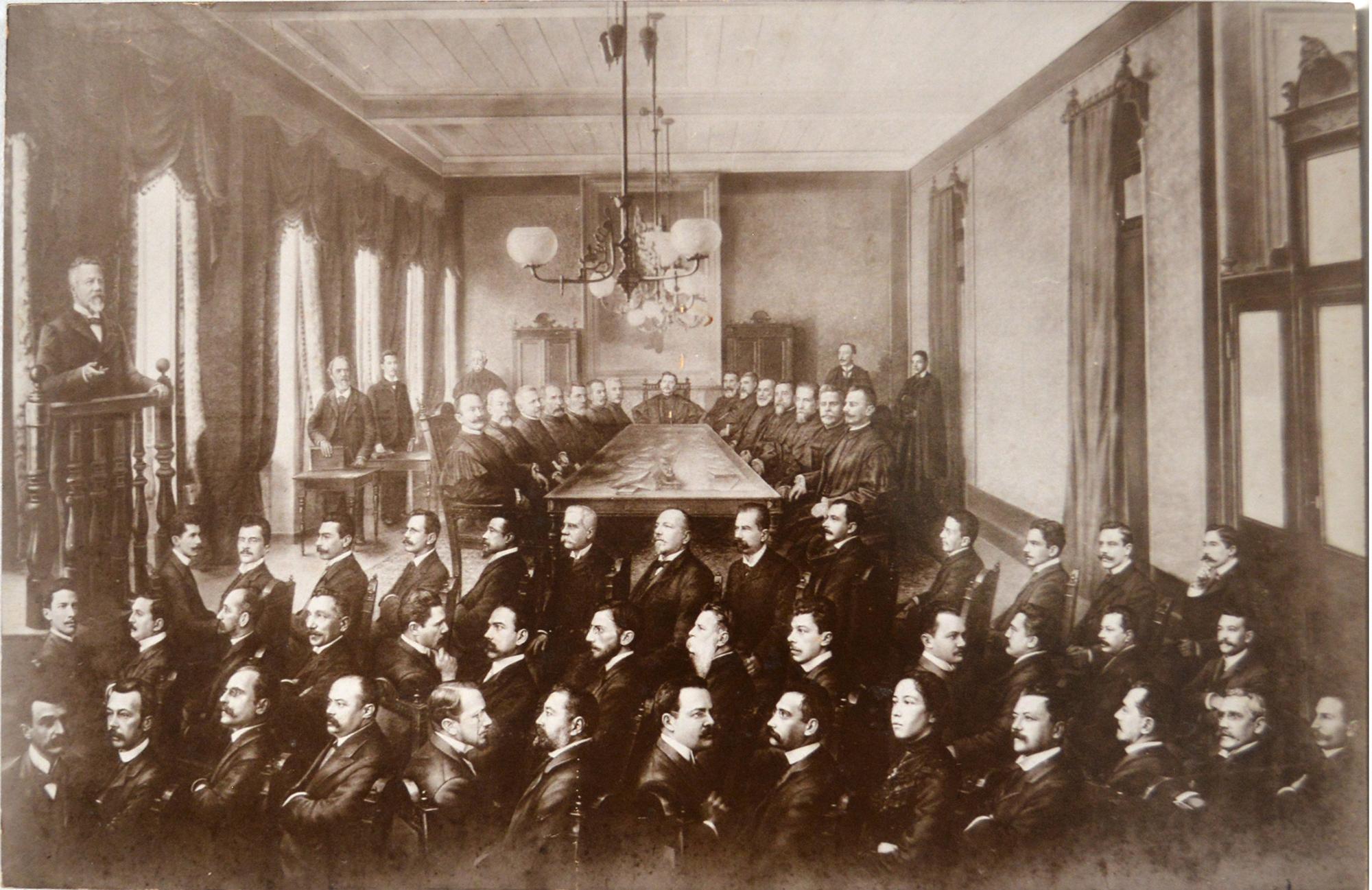 Tribunal de justiça de São Paulo, 1902, Valério Vieira